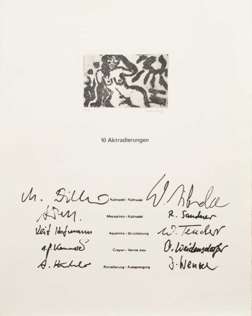 "Grafikmappe ""2/1985"". - Foto 2"