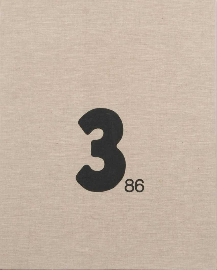 "Grafikmappe ""3/86"". - Foto 1"
