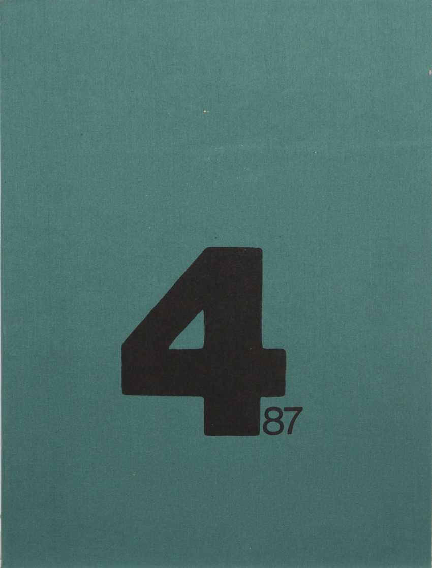 "Grafikmappe ""4/87"". - Foto 1"