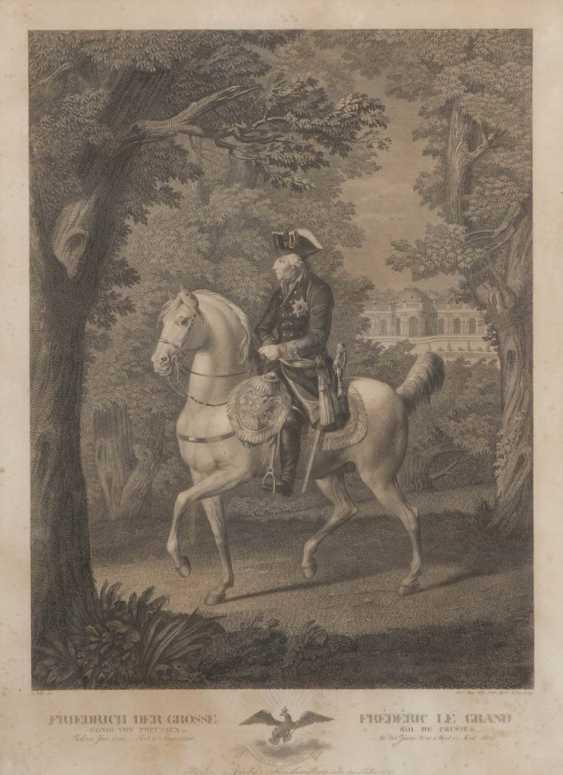 HAAS, Meno: Friedrich der Große. - Foto 1