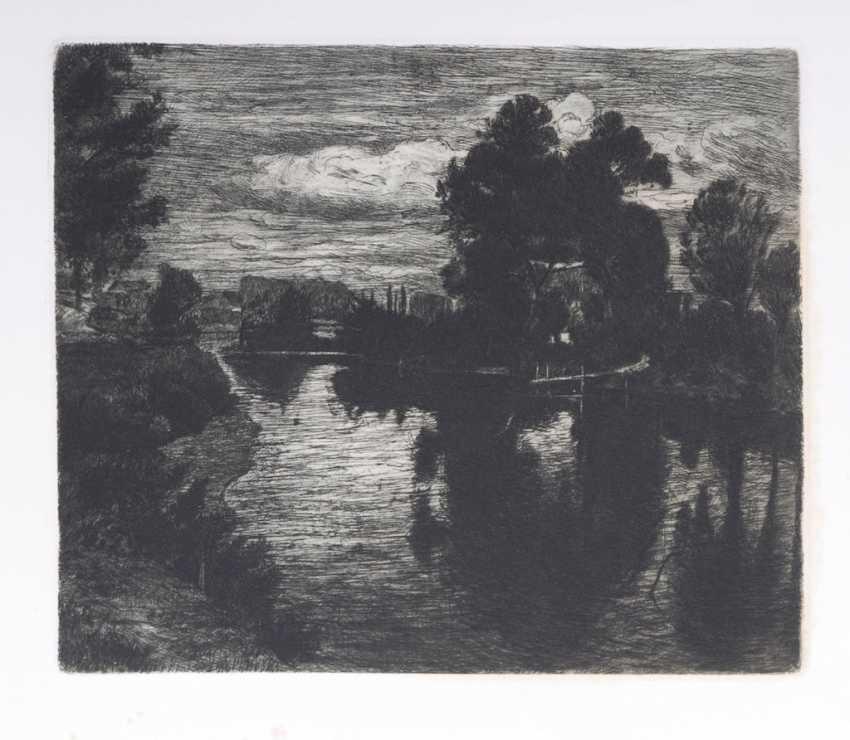"""HAGEN, Theodor (write-up): """"landscape - photo 1"""