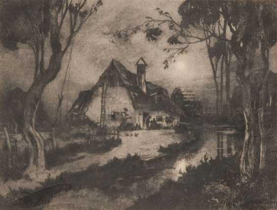 HENSCHL, Hugo: Wassermühle. - Foto 1