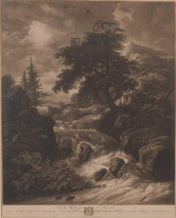 "HUCK, Johann Gerhard: ""Der Waldstrom"". - Foto 1"