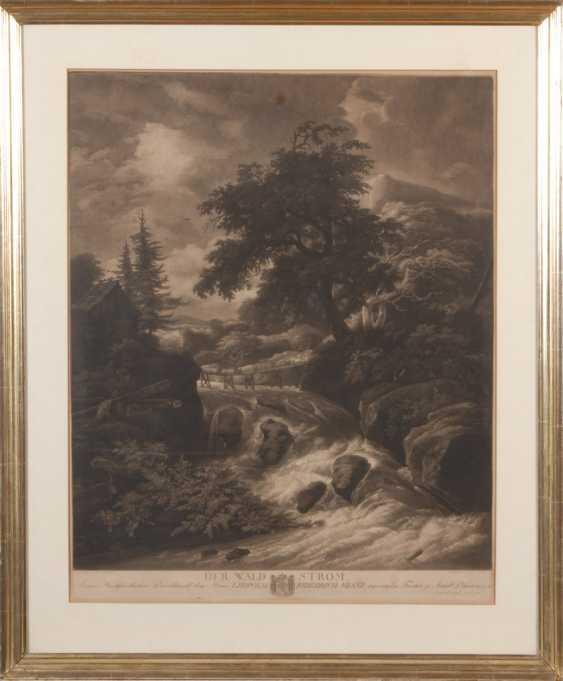"HUCK, Johann Gerhard: ""Der Waldstrom"". - Foto 2"