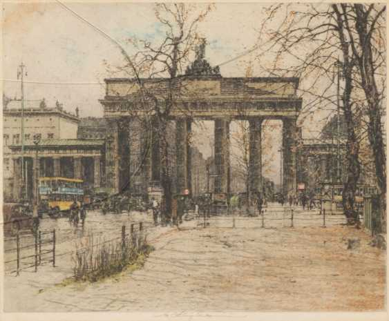 KASIMIR, Luigi: the Brandenburg gate. - photo 1