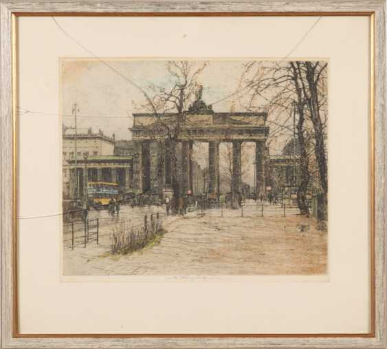 KASIMIR, Luigi: the Brandenburg gate. - photo 2