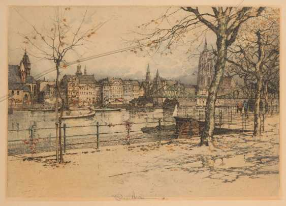 HARVEY, Robert: a view of Frankfurt. - photo 1