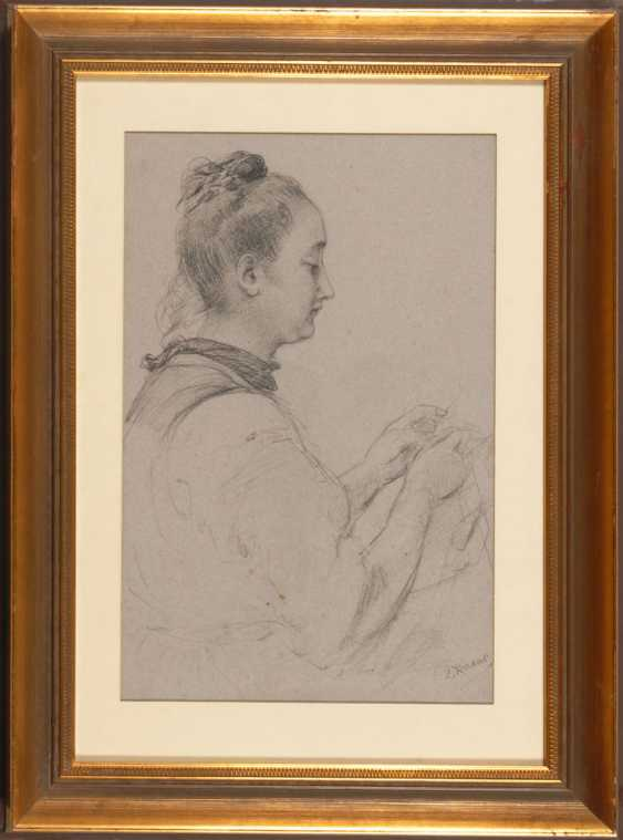 KNAUS, Ludwig: schwalm girl in the S - photo 2