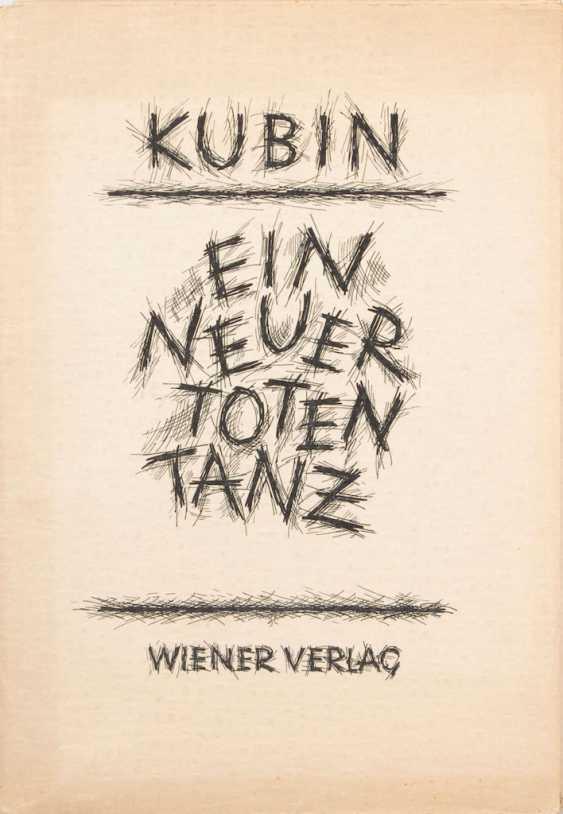 "KUBIN, Alfred: ""A new dance of death"". - photo 1"