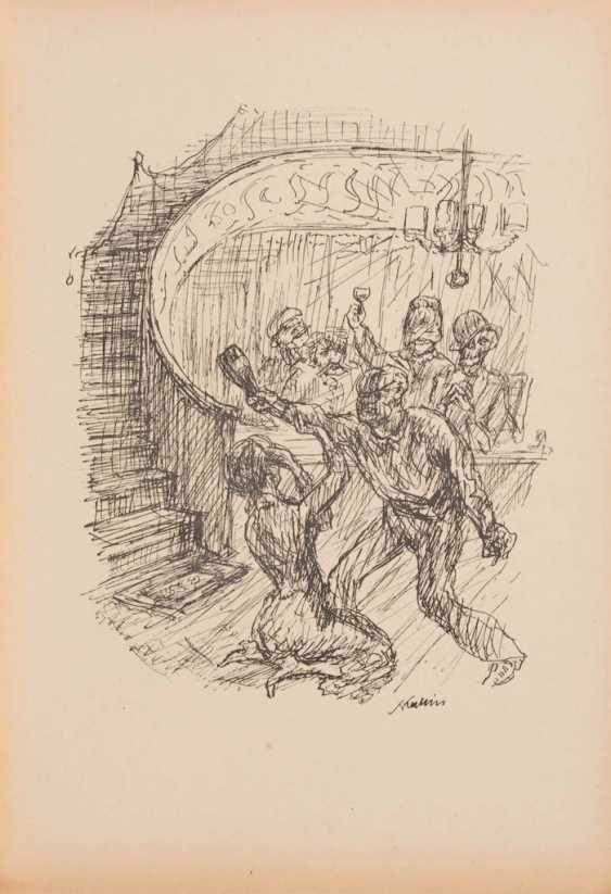 "KUBIN, Alfred: ""A new dance of death"". - photo 3"