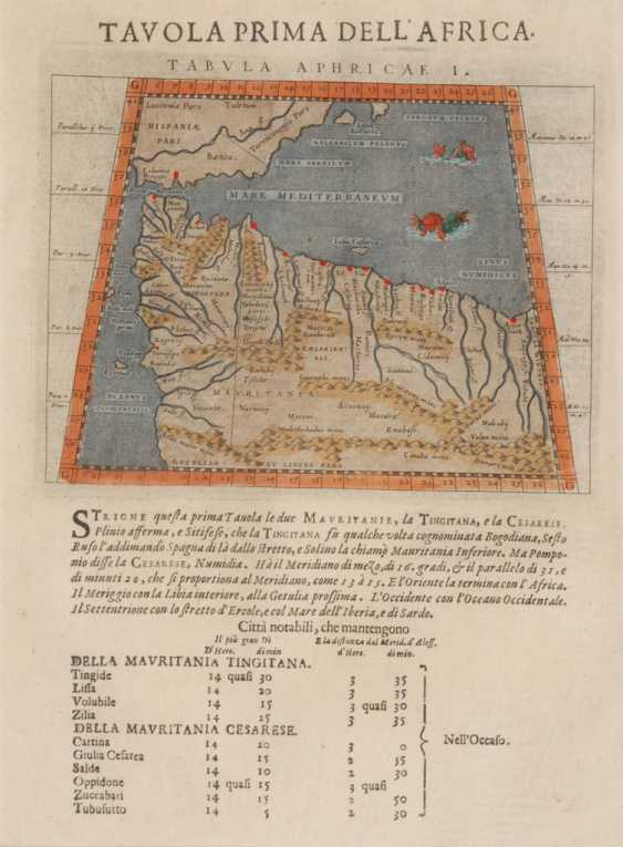 3 maps of North Africa - to Ptolemäu - photo 3