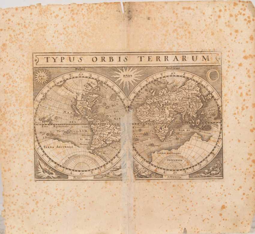 World map in 2 hemispheres - Matthew M - photo 1