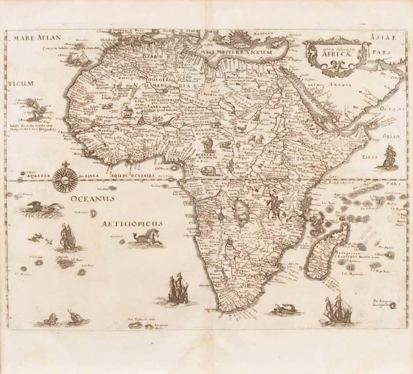 "Landkarte Afrika - ""Nova descriptio Afr - photo 1"