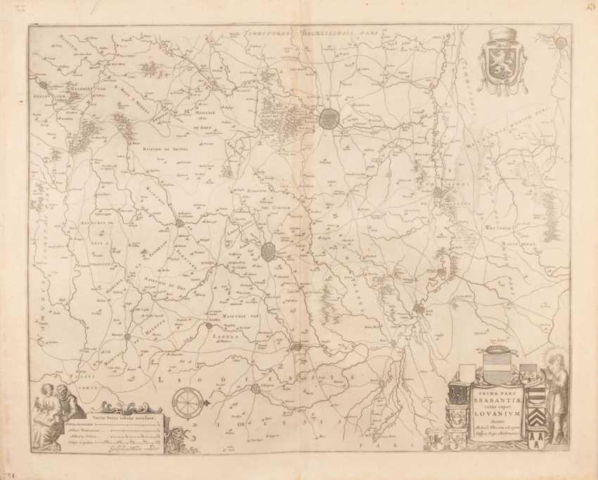 Landkarte Brabant - Guiljelmus Blaeu / - photo 1