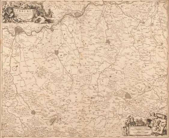 Landkarte der Grafschaft Valkenburg - C - Foto 1