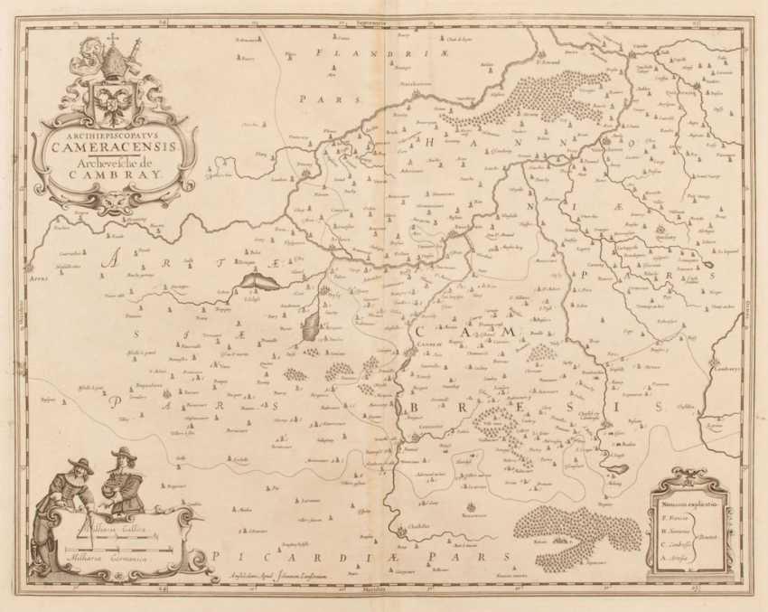 Landkarte des Erzbistums Cambrai - Joha - Foto 1