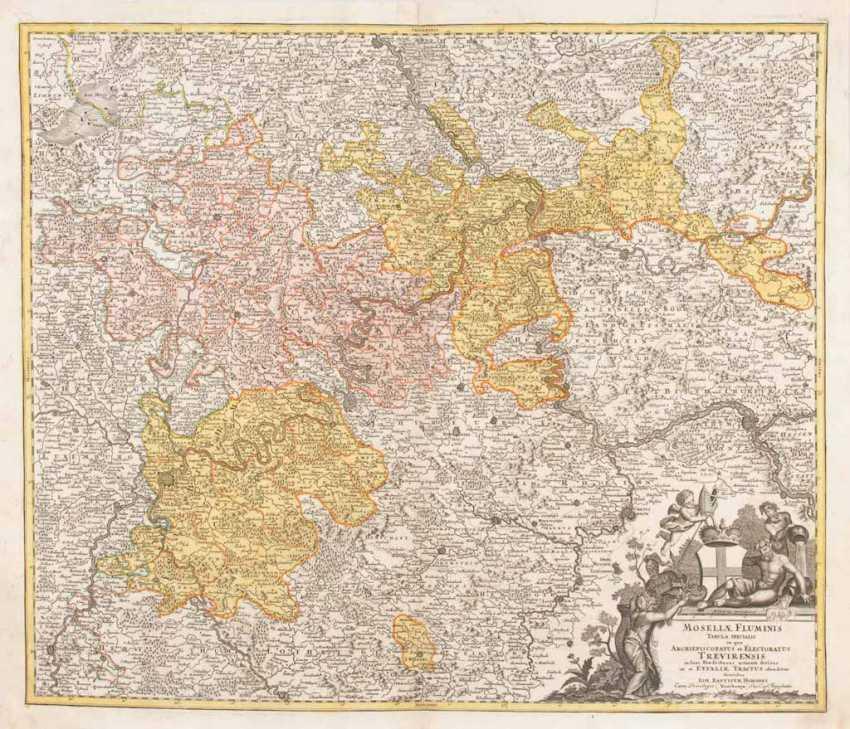 Landkarte des Erzbistums Trier - Johann - Foto 1
