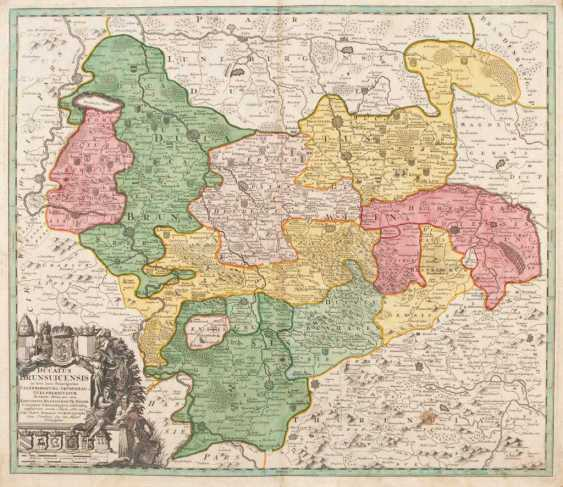 Map of the Duchy of Braunschweig - - photo 1