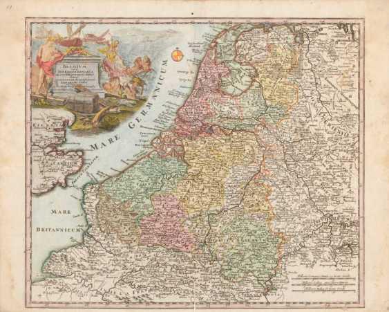 Landkarte Germania Inferior - Abraham G - Foto 1