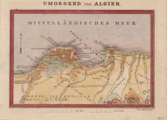 6 kleine Landkarten Afrika. - Foto 1