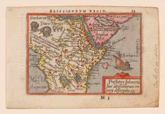 6 kleine Landkarten Afrika. - Foto 2