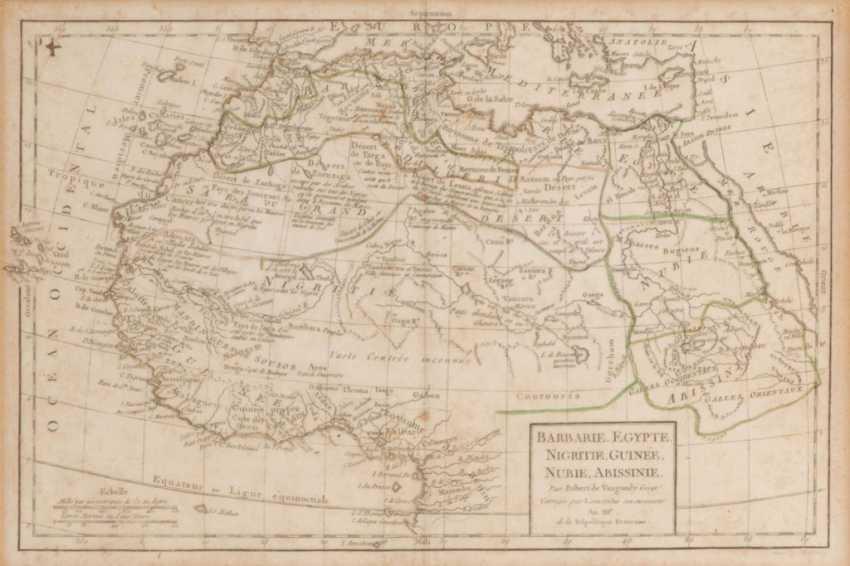 Landkarte Nordafrika - Robert de Vaugon - Foto 1
