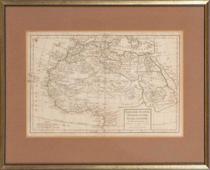 Landkarte Nordafrika - Robert de Vaugon - Foto 2