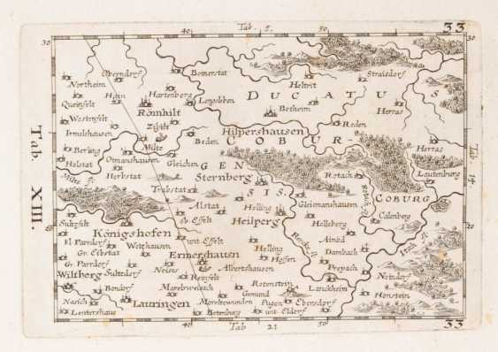 Landkarte Region Coburg. - Foto 1