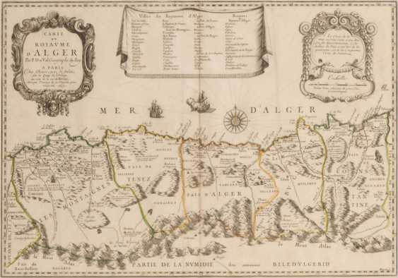 Landkarte von Algerien - Pierre Duval. - Foto 1
