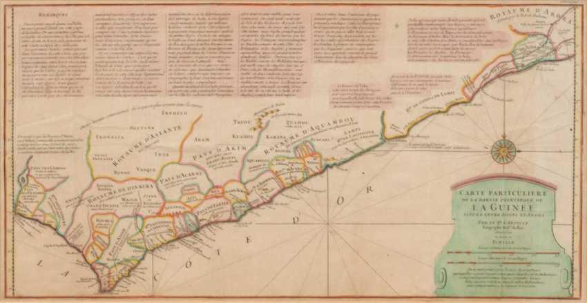Landkarte von Guinea - Jean-Baptiste Bo - Foto 1
