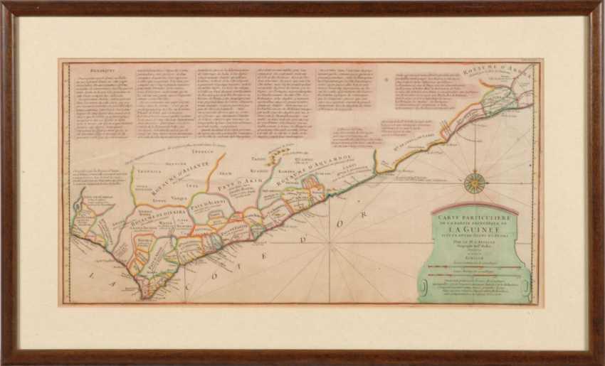 Landkarte von Guinea - Jean-Baptiste Bo - Foto 2