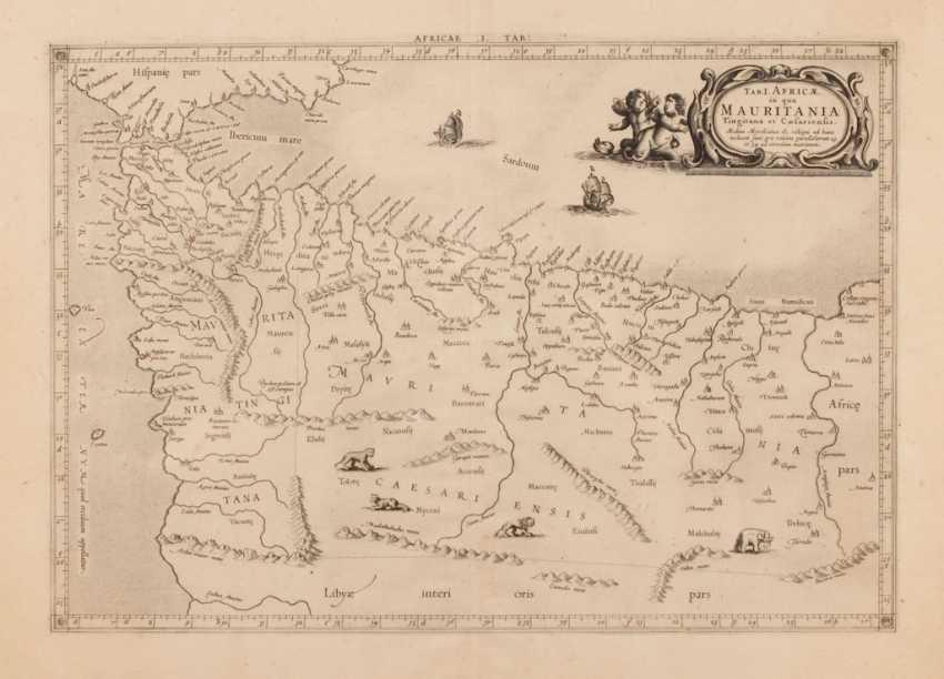 Landkarte von Mauretanien. - Foto 1