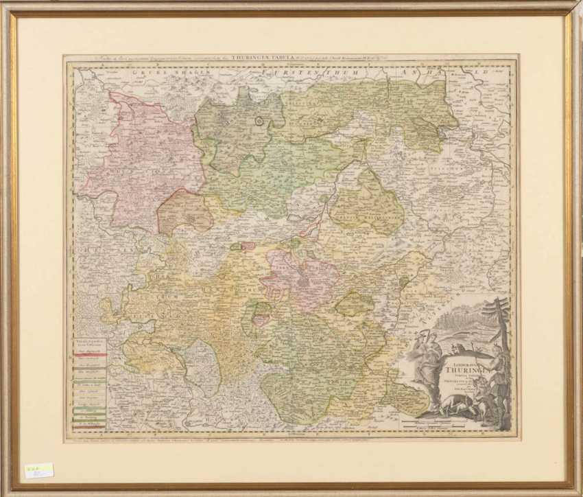 Map of Thuringia - Johann Baptis - photo 1