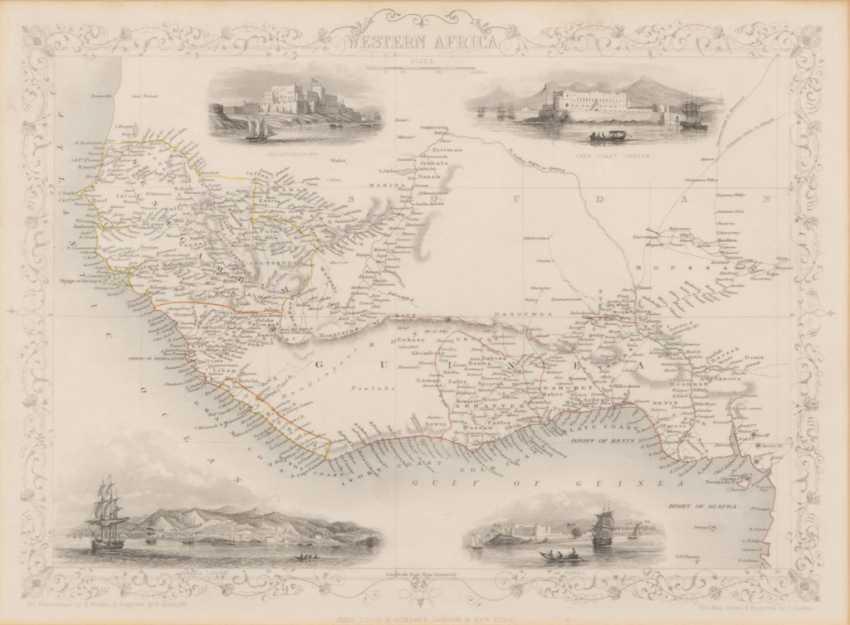 Landkarte von Westafrika - Henry Winkle - Foto 1