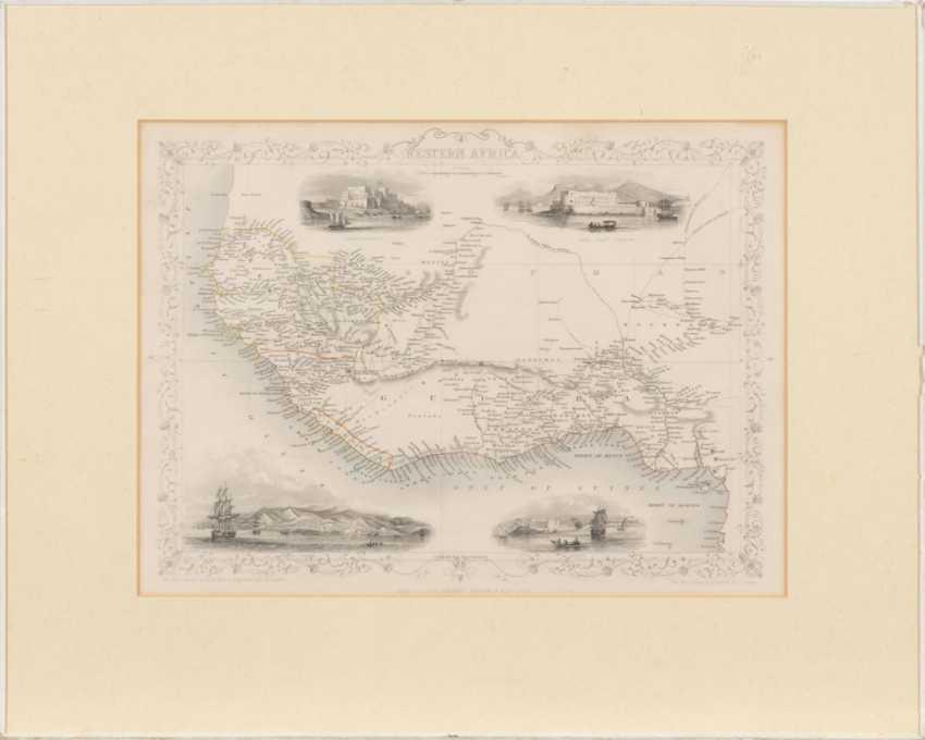Landkarte von Westafrika - Henry Winkle - Foto 2