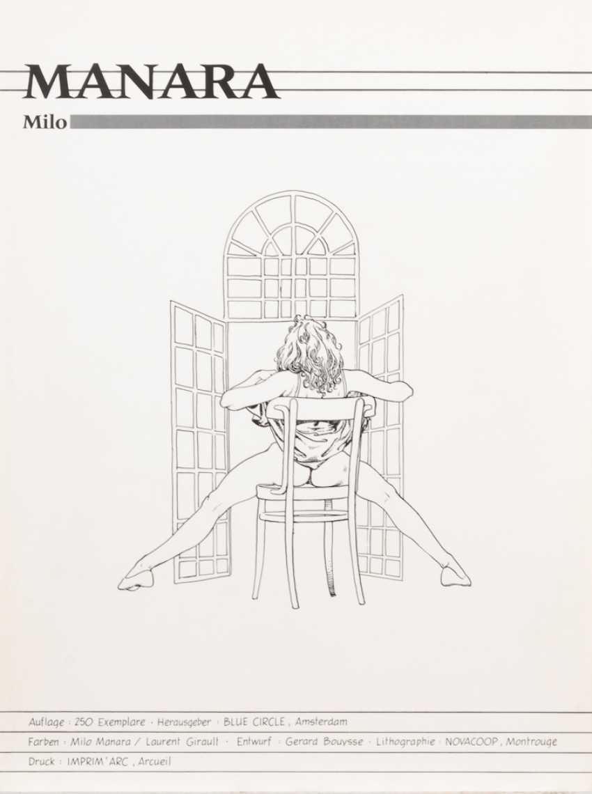"MANARA, Milo: ""Folia Erotica"". - photo 2"