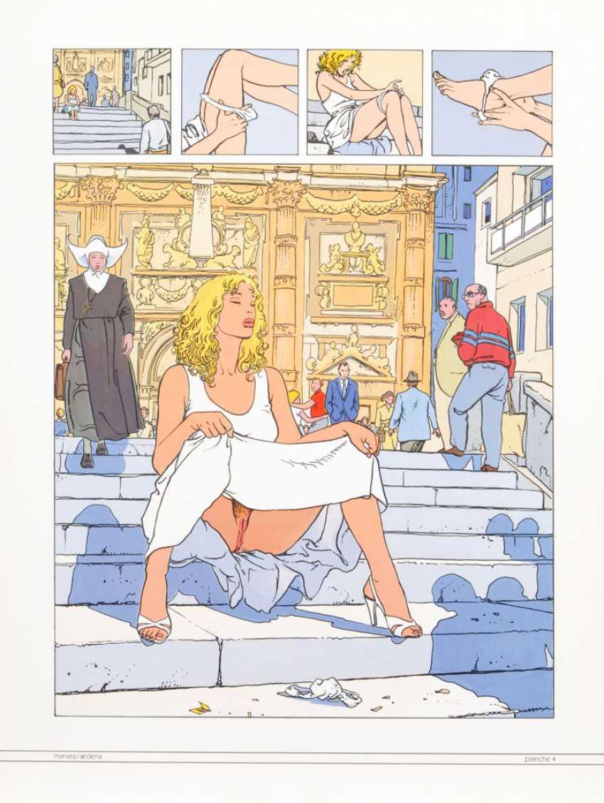 "MANARA, Milo: ""Folia Erotica"". - photo 4"