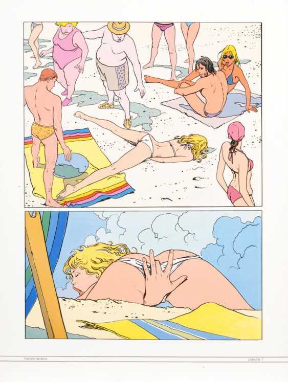 "MANARA, Milo: ""Folia Erotica"". - photo 7"