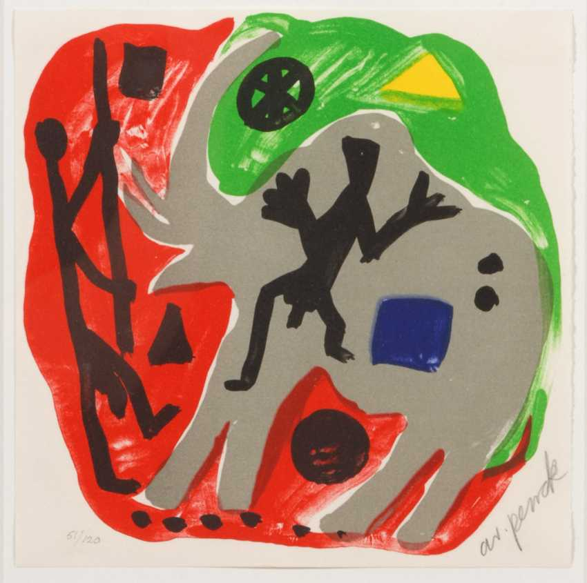 PENCK, A. R.: Abstract composition with - photo 1