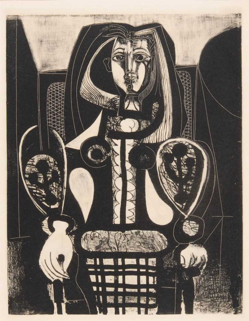 """PICASSO, Pablo: 2 sheets of the series """"Fe - photo 1"""