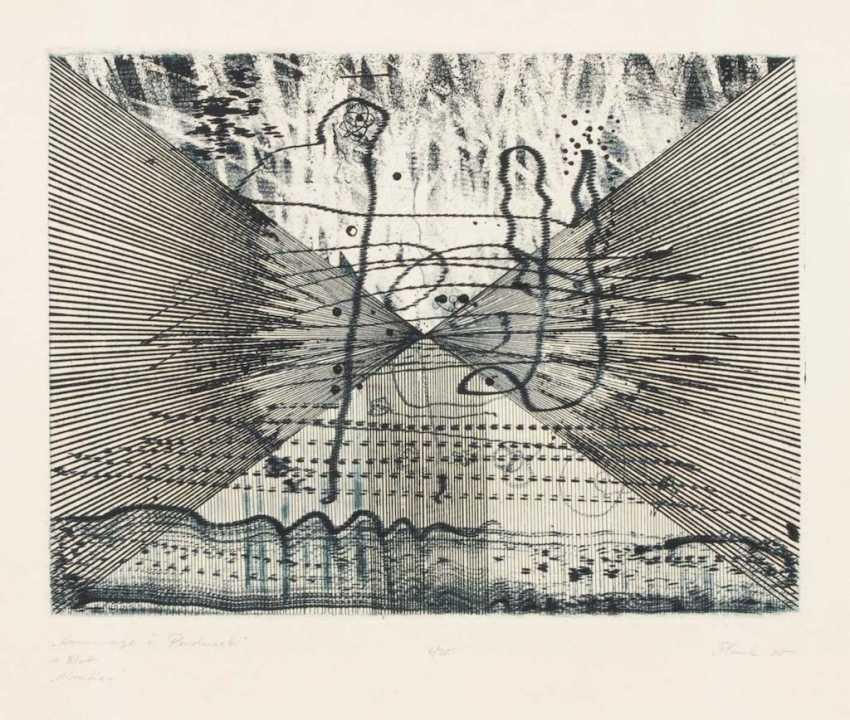 "PLANK, Heinz: ""homage to Penderecki"". - photo 2"