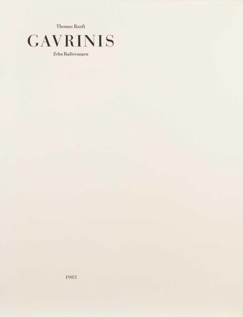 "RANFT, Thomas: ""Gavrinis"". - Foto 1"