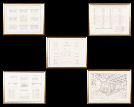 SCHINKEL, Karl Friedrich: drafts for - photo 1