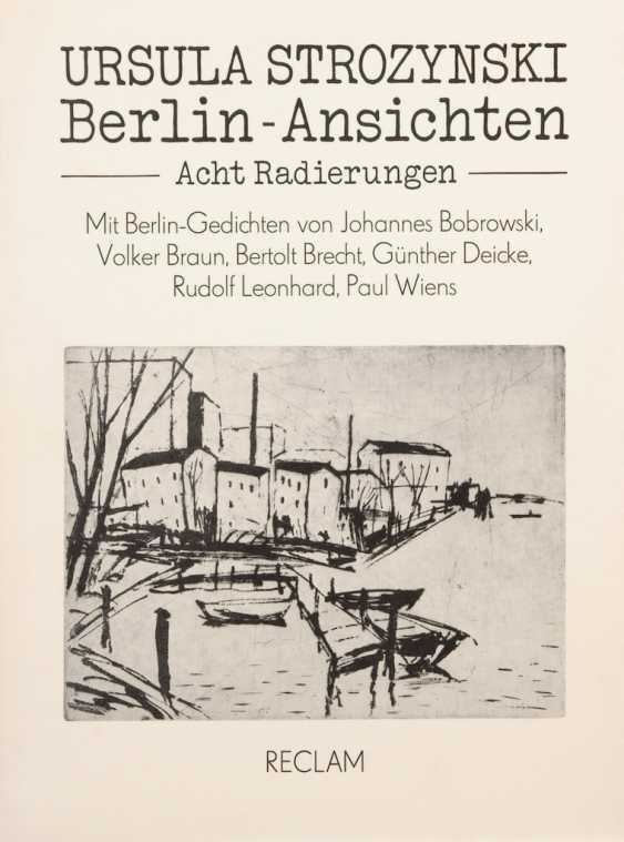 STROZYNSKI, Ursula: Berlin-Ansichten. - Foto 1