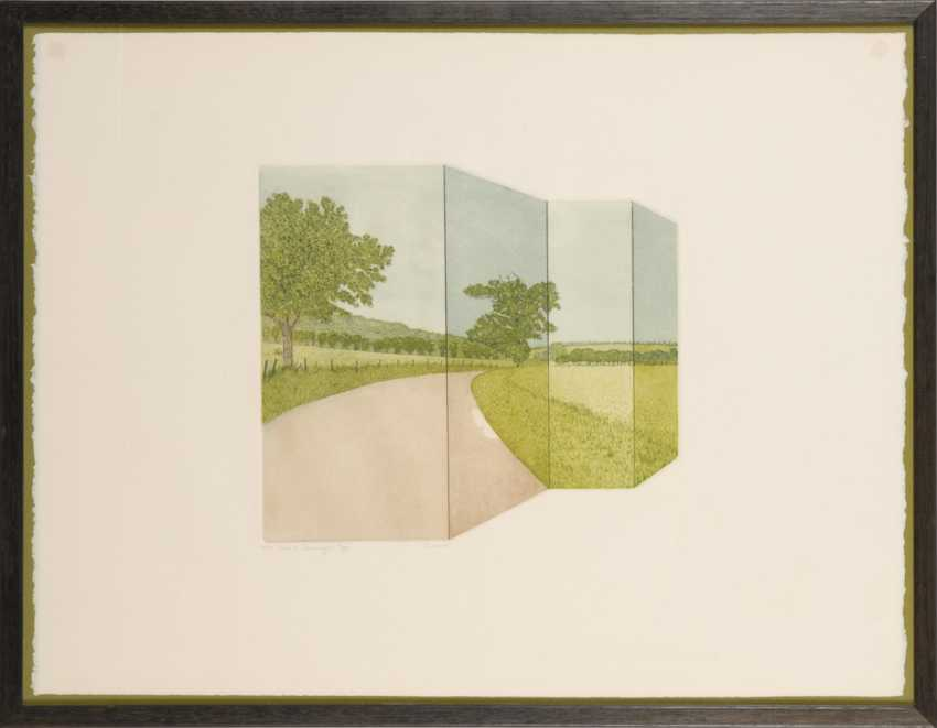"Indistinct Skinner signed (?): ""Road - photo 2"