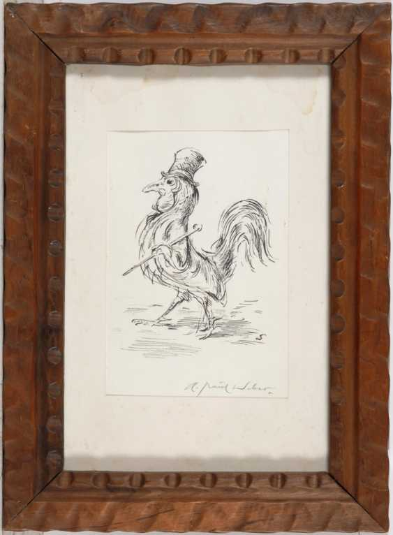 WEBER, Andreas Paul: Proud rooster. - photo 2