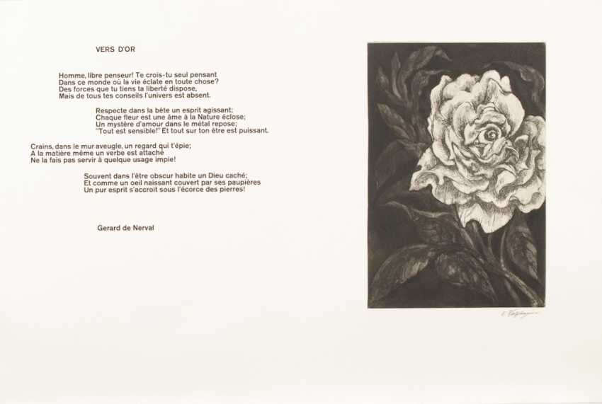 Wolf Hagen, Ernst: etchings to French - photo 4