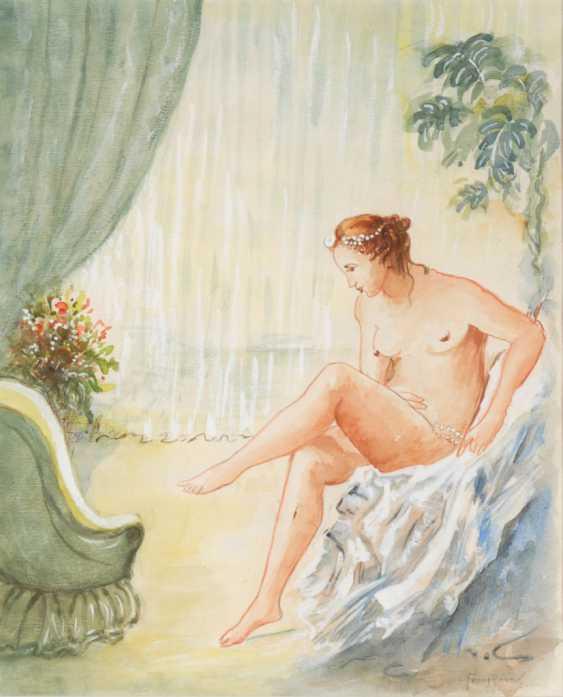 SUFFICIENT, Franz: a seated female Ak - photo 1