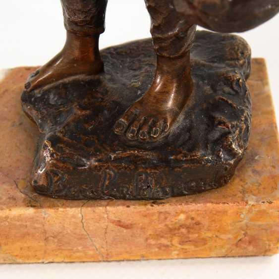 3 Bronze-Statuetten. - Foto 2