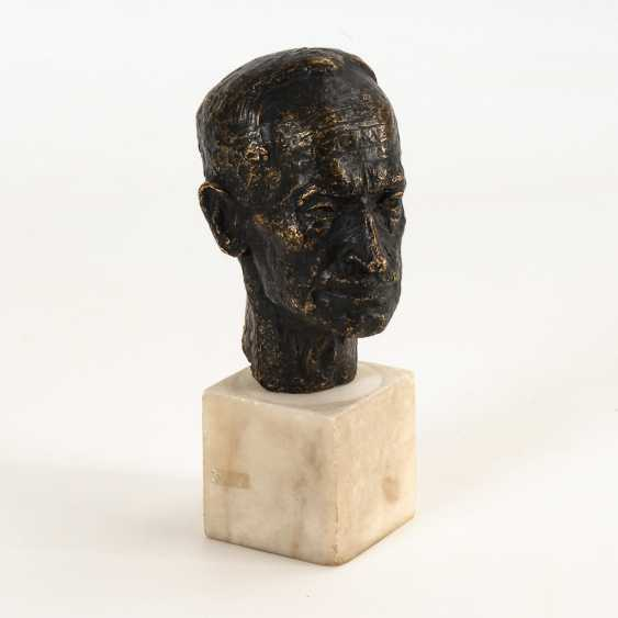 Bronze Portrait Head. - photo 1